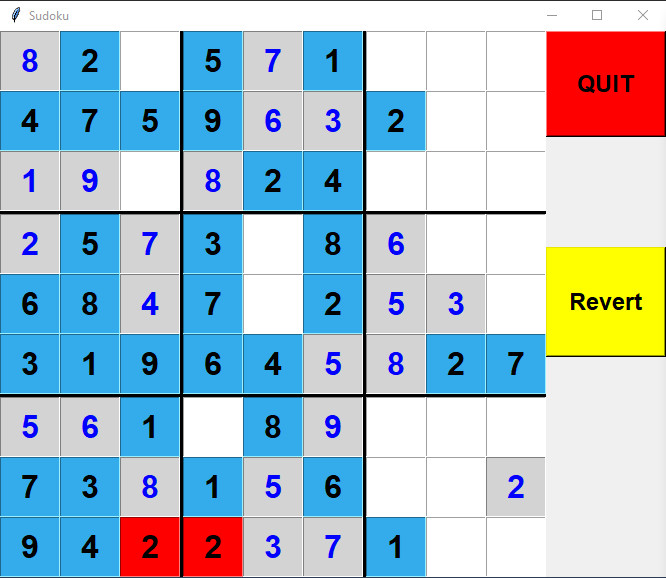 An Interactive Sudoku Solver in Python – Part 1: The Single Cell